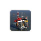 Hardboard Coaster w/Cork Backing 4/set-First Augusta Westland AW139 in US