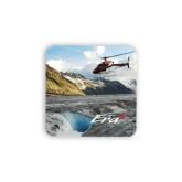 Hardboard Coaster w/Cork Backing 4/set-A-Star AS 350 Alaska Flight Seeing Glaciers