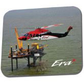 Full Color Mousepad-Sikorsky S76 Passing Rig in Gulf of Mexico