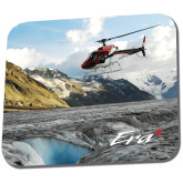Full Color Mousepad-A-Star AS 350 Alaska Flight Seeing Glaciers