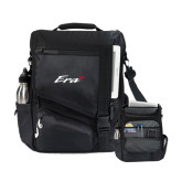 Momentum Black Computer Messenger Bag-Era
