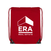 Red Drawstring Backpack-ERA