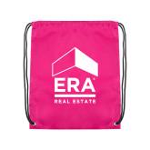 Pink Drawstring Backpack-ERA