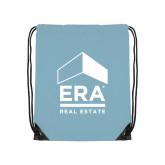 Light Blue Drawstring Backpack-ERA