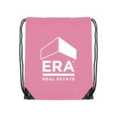 Light Pink Drawstring Backpack-ERA
