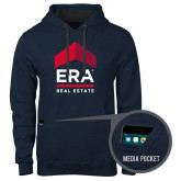 Contemporary Sofspun Navy Heather Hoodie-ERA
