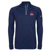 Under Armour Navy Tech 1/4 Zip Performance Shirt-ERA