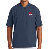 New Era Navy Cage Short Sleeve 1/4 Zip-ERA
