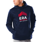 Under Armour Navy Armour Fleece Hoodie-ERA