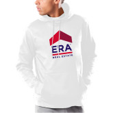 Under Armour White Armour Fleece Hoodie-ERA
