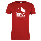 Ladies Red T Shirt-ERA