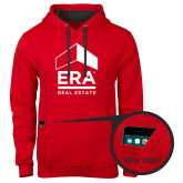 Contemporary Sofspun Red Hoodie-ERA