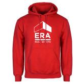 Red Fleece Hoodie-ERA