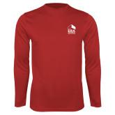 Performance Red Longsleeve Shirt-ERA