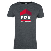 Ladies Dark Heather T Shirt-ERA