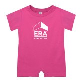 Bubble Gum Pink Infant Romper-ERA