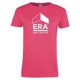 Ladies Fuchsia T Shirt-ERA