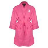 Hot Pink Waffle Kimono Robe-ERA