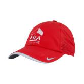 Nike Dri Fit Red Perforated Hat-ERA