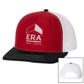 Richardson Red/White/Black Trucker Hat-ERA