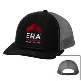 Richardson Black/Charcoal Trucker Hat-ERA