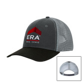 DRI DUCK Hudson Charcoal/Black Trucker Hat-ERA