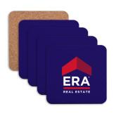 Hardboard Coaster w/Cork Backing 4/set-ERA