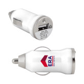 On the Go White Car Charger-ERA