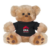 Plush Big Paw 8 1/2 inch Brown Bear w/Black Shirt-ERA