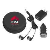 3 in 1 Black Audio Travel Kit-ERA