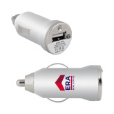 On the Go Silver Car Charger-ERA