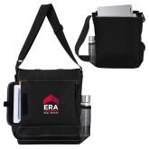 Impact Vertical Black Computer Messenger Bag-ERA