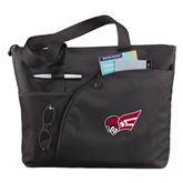 Excel Black Sport Utility Tote-Flying Fleet Head