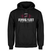 Black Fleece Hoodie-Flying Fleet Football