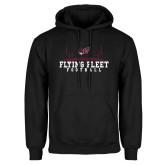 Black Fleece Hoodie-Erskine Flying Fleet Football