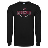 Black Long Sleeve T Shirt-Erskine College