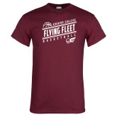 Maroon T Shirt-Basketball