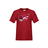 Youth Cardinal T Shirt-Flying Fleet Head