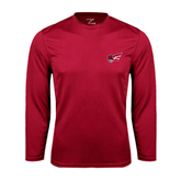 Performance Cardinal Longsleeve Shirt-Flying Fleet Head