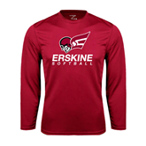Performance Cardinal Longsleeve Shirt-Softball