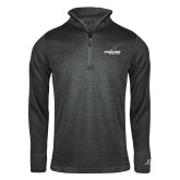Russell Charcoal Heather 1/4 Zip-Erskine Flying Fleet Stacked