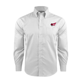 Red House White Long Sleeve Shirt-Flying Fleet Head