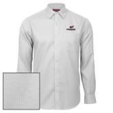 Red House White Diamond Dobby Long Sleeve Shirt-Erskine Flying Fleet Stacked