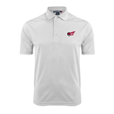 White Dry Mesh Polo-Flying Fleet Head