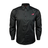 Red House Black Long Sleeve Shirt-Flying Fleet Head