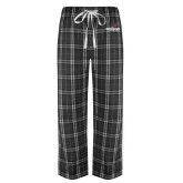 Black/Grey Flannel Pajama Pant-Erskine Flying Fleet Stacked