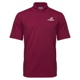 Maroon Mini Stripe Polo-Erskine Flying Fleet Stacked