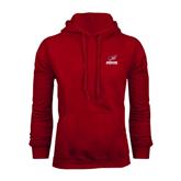 Cardinal Fleece Hoodie-Official Logo