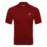 Cardinal Textured Saddle Shoulder Polo-Flying Fleet Head