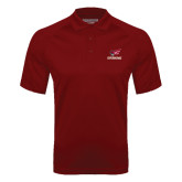 Cardinal Textured Saddle Shoulder Polo-Erskine w/Flying Head